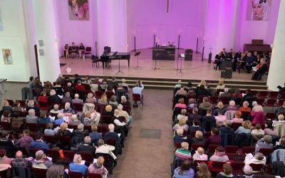 Musical-Gottesdienst in der Kreuzeskirche in Essen